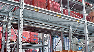 pallet rack for buidling material